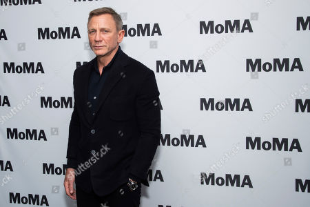 """Editorial photo of MoMA """"In Character: Daniel Craig"""" Film Series Opening Night, New York, USA - 03 Mar 2020"""