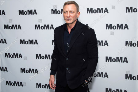 """Editorial picture of MoMA """"In Character: Daniel Craig"""" Film Series Opening Night, New York, USA - 03 Mar 2020"""