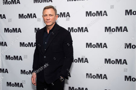 """Stock Photo of Daniel Craig attends the opening night of the """"In Character: Daniel Craig"""" film series at the Museum of Modern Art, in New York"""