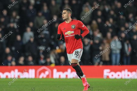 Andreas Pereira (15) of Manchester United during the game