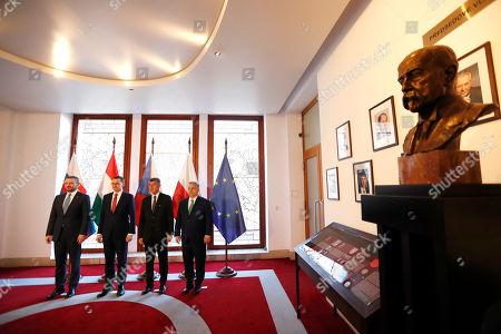 Editorial photo of V4 Summit, Prague, Czech Republic - 04 Mar 2020