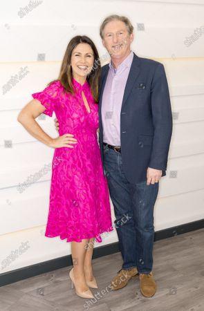 Susanna Reid and Adrian Dunbar