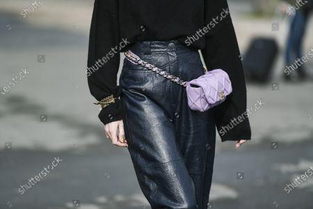 Editorial image of Street Style, Fall Winter 2020, Paris Fashion Week, France - 03 Mar 2020