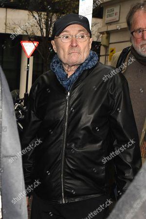 Phil Collins at BBC Radio 2 Studios