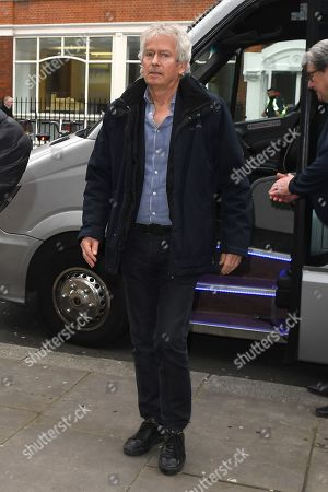 Tony Banks at BBC Radio 2 Studios
