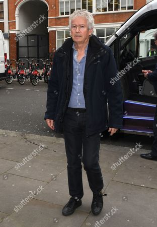 Stock Image of Tony Banks at BBC Radio 2 Studios