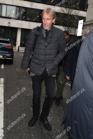 Stock Photo of Mike Rutherford at BBC Radio 2 Studios