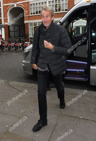Stock Image of Mike Rutherford at BBC Radio 2 Studios