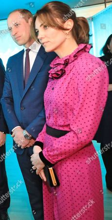Ruth Furney, Tánaiste Simon Coveney, Prince William and Catherine Duchess of Cambridge at an event at the Museum of Literature during the Royal visit