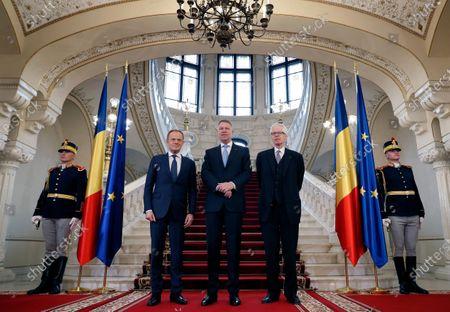 Editorial picture of European Society Coudenhove-Kalergi 2020 prize ceremony in Bucharest, Romania - 04 Mar 2020