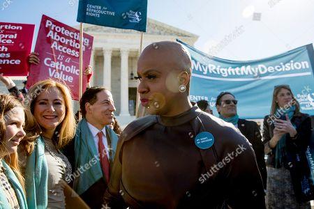 Editorial photo of Supreme Court Abortion, Washington, USA - 04 Mar 2020