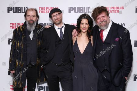 Editorial image of 'Coal Country' play opening night, New York, USA - 03 Mar 2020