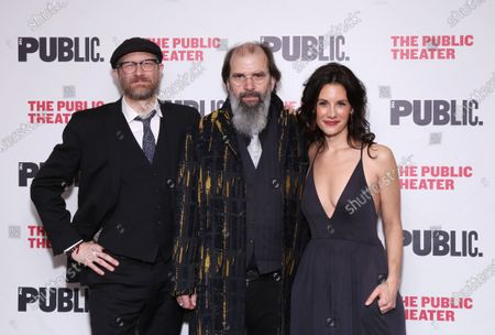 Stock Image of Erik Jensen, Steve Earle, and Jessica Blank