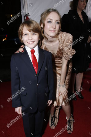 Stock Photo of Christian Ashdale & Saoirse Ronan