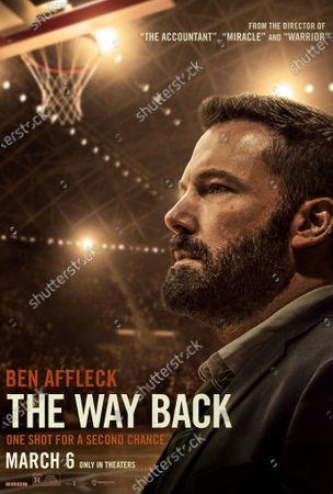 The Way Back (2020) Poster Art. Ben Affleck as Jack Cunningham