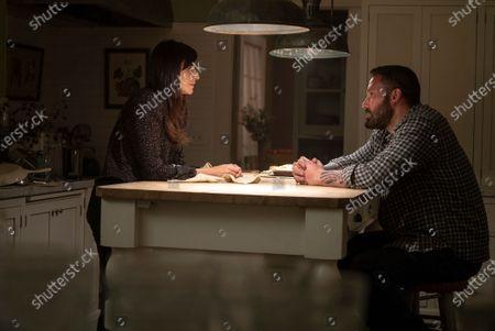 Michaela Watkins as Beth and Ben Affleck as Jack Cunningham