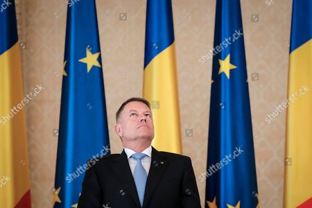 Editorial photo of Liechtenstein Coudenhove-Kalergi Prize, Bucharest, Romania - 04 Mar 2020