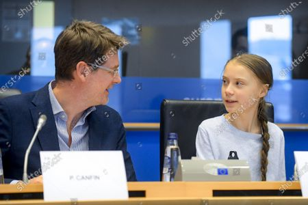 Pascal Canfin and Greta Thunberg