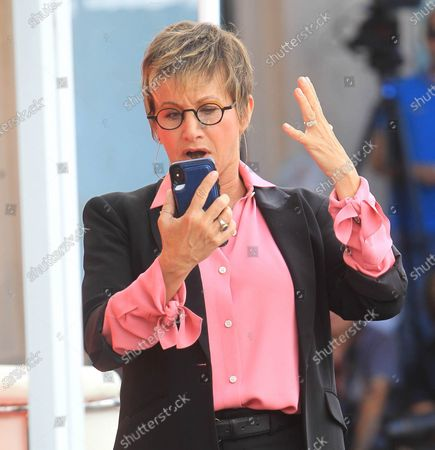 Editorial photo of Gabrielle Carteris out and about, Los Angeles, USA - 03 Mar 2020