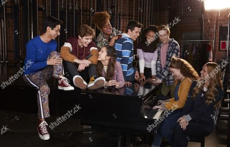 Frankie A. Rodriguez as Carlos, Joshua Bassett as Ricky, Olivia Rodrigo as Nini, Dara Renee as Kourtney, Matt Cornett as E.J, Sofia Wylie as Gina, Larry Saperstein as Big Red, Julia Lester as Ashlyn and Kate Reinders as Miss Jenn