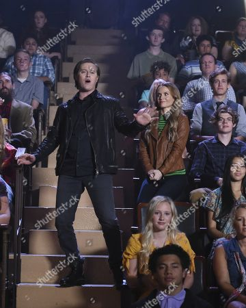 Lucas Grabeel and Kate Reinders as Miss Jenn