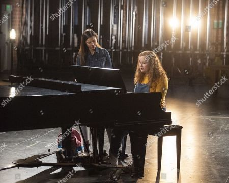 Olivia Rodrigo as Nini and Julia Lester as Ashlyn