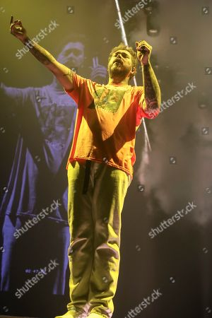 Post Malone performs at Infinite Energy Center, in Atlanta