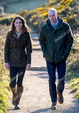 Stock Image of Catherine Duchess of Cambridge, Prince William