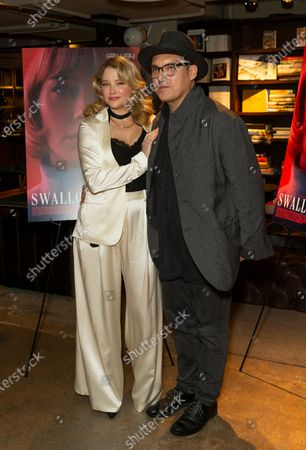 Haley Bennett and Joe Wright