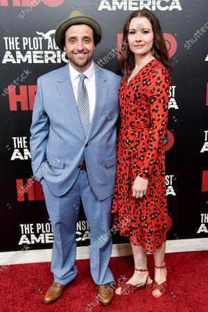 David Krumholtz and Vanessa Britting