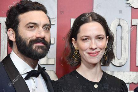 Zoe Kazan and Morgan Spector