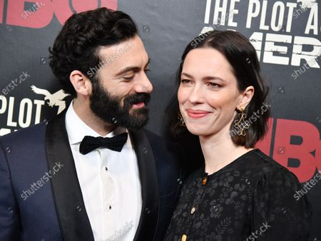 Stock Picture of Morgan Spector and Rebecca Hall