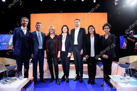 Editorial photo of Paris city mayor candidates debate, Boulogne Billancourt, France - 04 Mar 2020
