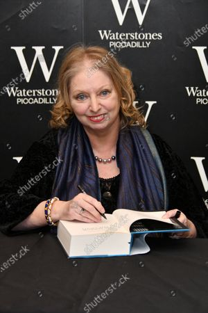 Editorial photo of Hilary Mantel book signing photocall, London, UK - 04 Mar 2020
