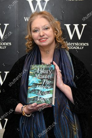Editorial picture of Hilary Mantel book signing photocall, London, UK - 04 Mar 2020