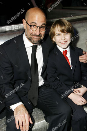 Stanley Tucci and Christian Ashdale