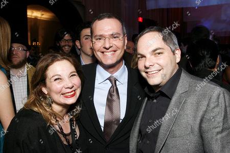 Tessa Ross, Ken Kamins and Adam Goodman