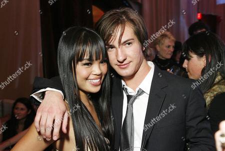 Nikki Soohoo and Andrew James Allen