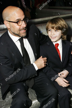 Stock Image of Stanley Tucci and Christian Ashdale