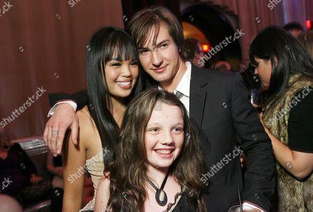 Nikki Soohoo, Stefania Owen and Andrew James Allen