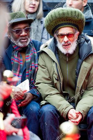 Stock Image of Lynval Golding and Don Letts