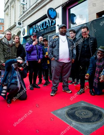 Editorial image of Unveiling of Amy Winehouse Stone on Camden Music Walk of Fame, London, UK - 04 Mar 2020