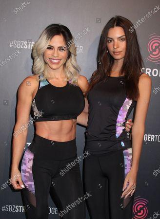Michelle Lewin and Emily Ratajkowski