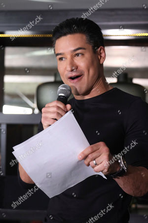 Mario Lopez hosts the Enrique Iglesias and Ricky Martin Press Conference at The London West Hollywood Hotel, in West Hollywood, Calif
