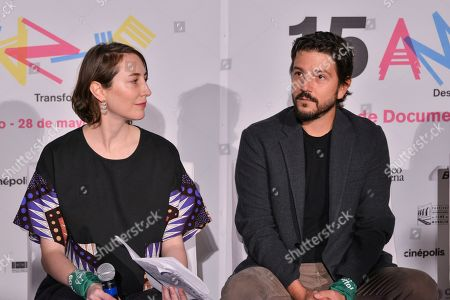 Diego Luna and guest