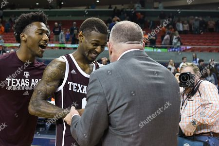 Editorial picture of Texas A M Basketball, Auburn, USA - 04 Mar 2020
