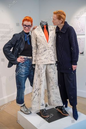 Editorial image of Sandy Powell's Oscars suit to be auctioned, Phillips, London, UK - 04 Mar 2020