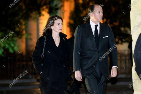 Stock Image of Queen Margarita and Konstantin-Assen, Prince of Vidin