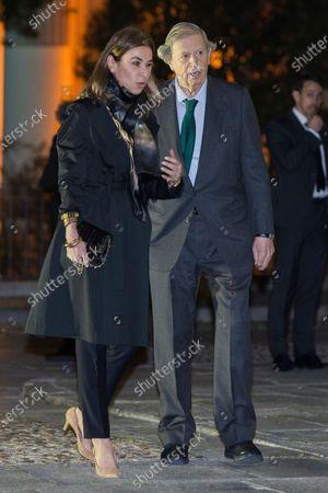 Carmen Posadas and Fernando Falco