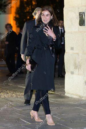 Editorial photo of Placido Arango's funeral mass, Madrid, Spain - 04 Mar 2020